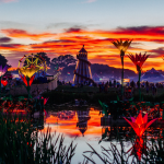 Shambala at sunset