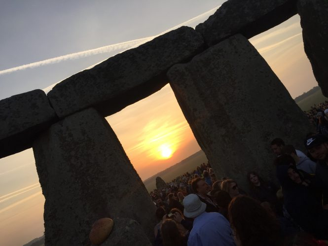 Sunrise at Stonehenge