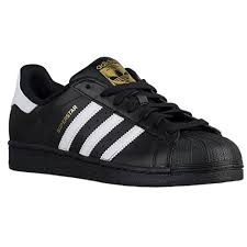 Adidas Superstar Originals trainers, black